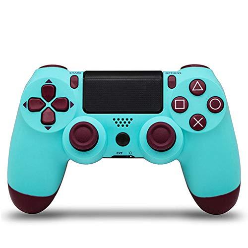 LINAN Gamepad inalámbrico, Controlador para Ps4 Pro/Pc/iOS y teléfono móvil Android, Gamepad inalámbrico Bluetooth para Playstation 4 Steam Dualshock Console