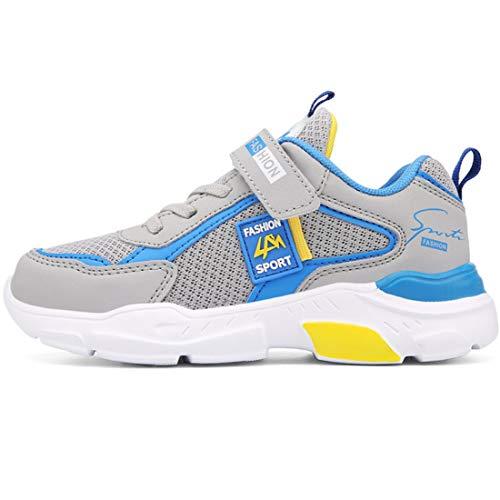 ZOSYNS Jungen Fußballschuhe Laufschuhe Sportschuhe Sneaker für Kinder Turnschuhe Mädchen Outdoorschuhe 28