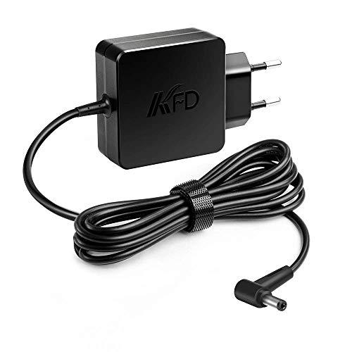 KFD AC Adaptador 45W Alimentador Cargador portátil para ASUS AD883J20 010KLF F555L F552C F551M F551C S550C X551C X54C X551M X555L X554L A52F AD883220 010KLF Bah Toshiba Z30 X551MA X551CA 19V 2.37A