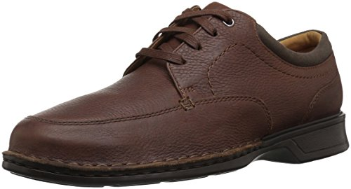 Clarks Men's Northam Pace Oxford, Tobacco Leather, 11 E US