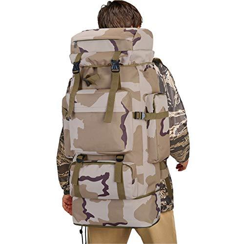 SHDT Mochila Táctica Militar Expandible 70L-85L Mochila Grande para Acampar Y Senderismo Mochila Impermeable Mochila De Viaje