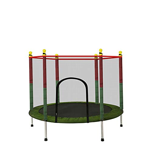 Trampoline for Kids with Enclosure Net Trampoline Indoor/Outdoor Zero Gravity Trampoline Super Load Bearing Silent Trampoline Help Children Grow and Play