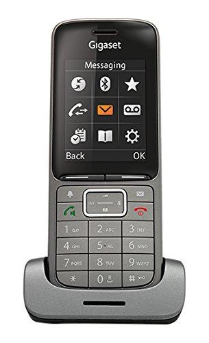 Gigaset SL750H PRO Business DECT Telefon für Büros - ideale Kommunikation dank glasklarer Audioprofile - Design Telefon aus hochwertigen Materialien - mit Micro USB Schnittstelle, anthrazit
