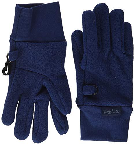 Playshoes Kinder-Unisex Uni Winter-Handschuhe, Marine, 2