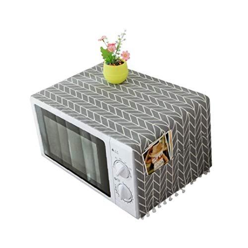 Cubierta De Polvo Doméstico Campana Extractora Horno Microondas con Bolsa De Almacenamiento Accesorios De Cocina Decoración Hogar Suministros