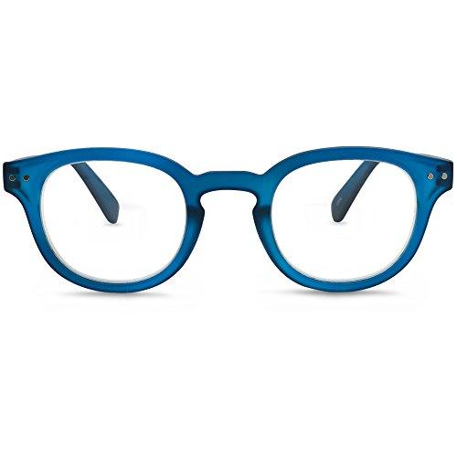 MK Eyeglasses The Portland Reading Glasses (Blue, 2.0), Medium