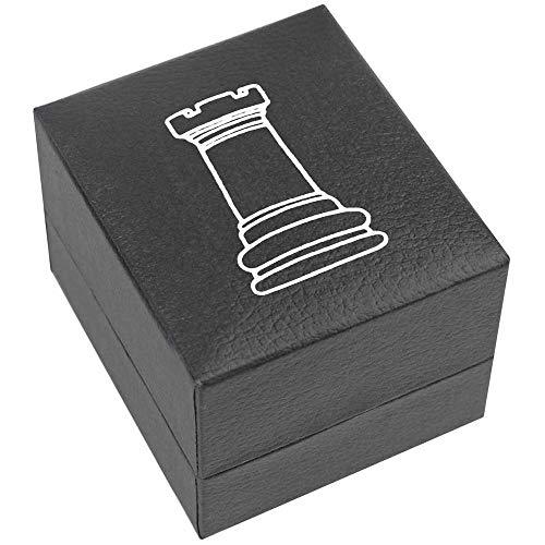 Azeeda 'Turm Schachfigur' Verlobungsringbox (RB00001190)