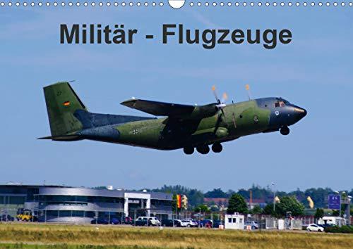 Militär - Flugzeuge (Wandkalender 2021 DIN A3 quer)