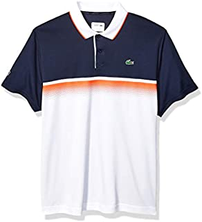 Lacoste Men's Sport Short Sleeve Ultra Dry Gradient Print Polo