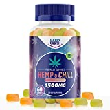Hemp Gummies for Pain and Anxiety – 1500mg Hemp Gummies – Organic Hemp Oil – Rich in Vitamins and Minerals – Hemp Gummies for Relaxation & Stress Relief