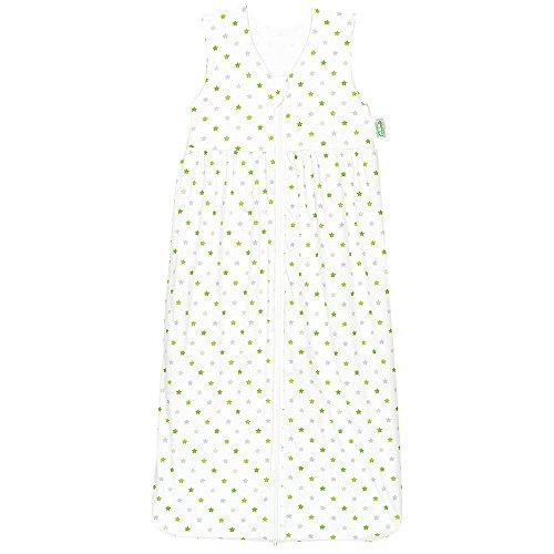 Odenwälder 1342-1307 Gr. 110cm Jersey-Schlafsack Anni weiß-limone