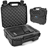 CASEMATIX Video Projector Hard Case with Customizable Foam Compatible with Epson VS240, EX...