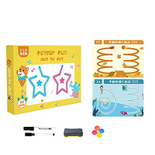 Handschrift Werkboeken voor kleuterschool Kleuter- Magische Tracing Werkboek voor Kinderen Kleuterschool Educatief…
