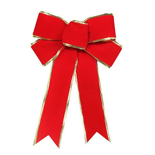 SDYPDQ Kerst Boog Lint Gift Bloemen Inpakpapier Bruiloft Evenement Verjaardag Decoratie