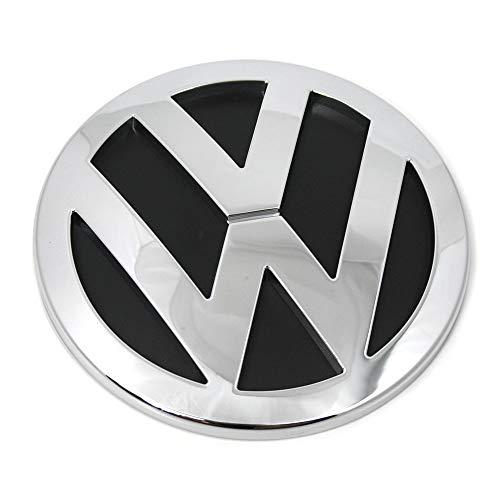 Volkswagen 7H0853630ULM Emblem Logo chrom glänzend, für VW T5 Modelljahr 2003-2010 mit Heckklappe
