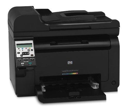 HP LaserJet Pro 100 M175nw e-All-in-One Farblaser Multifunktionsdrucker (A4, Drucker, Scanner, Kopierer, Wlan, Ethernet, USB, 600x600)