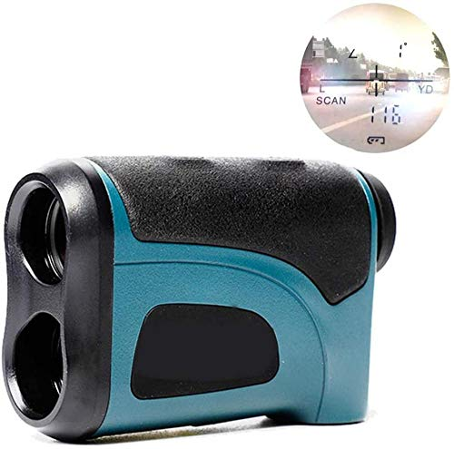 YAYY Digital Monoculaire Range Finder 800M 1200M Telescoop Laser Range Finder Golf Digitale Monoculaire Range Finder Hoek Meetgereedschap 1200m (Upgrade)