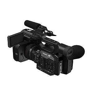 Panasonic HC-X1E Profi-Camcorder (4K 24p, UHD 60p/50p, FHD 60p/50p, 24mm LEICA Dicomar Objektiv, OLED Sucher, 8,9 cm Wide LCD, integrierte ND Filter, 2 XLR Eingänge, 2 SD Slots) schwarz