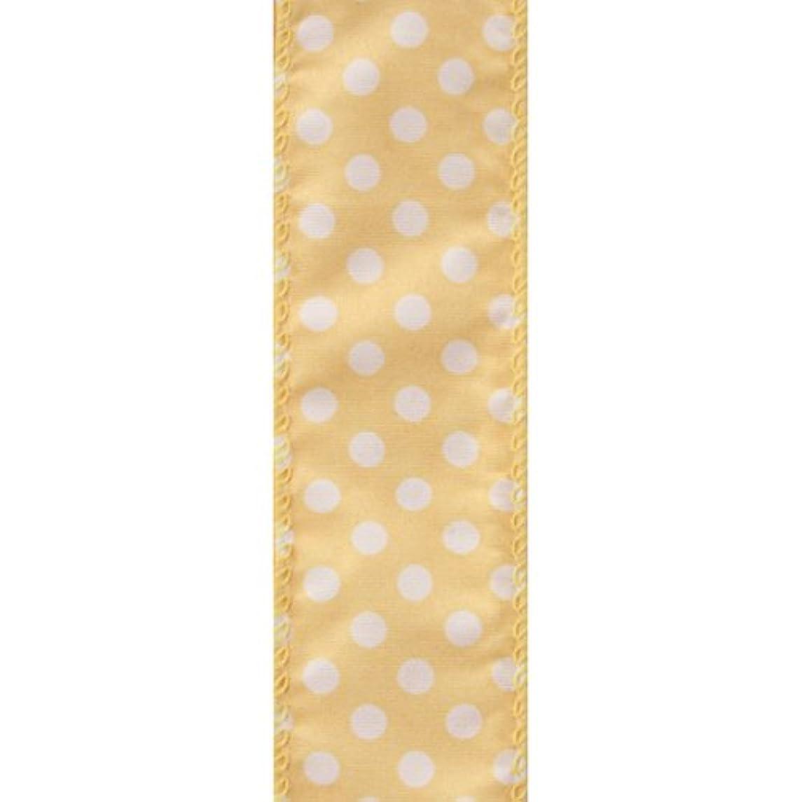 Berwick Offray LLC Lion Spring Value Wired Edge Ribbon-1-1/2 X 50yds-Yellow Ribbon