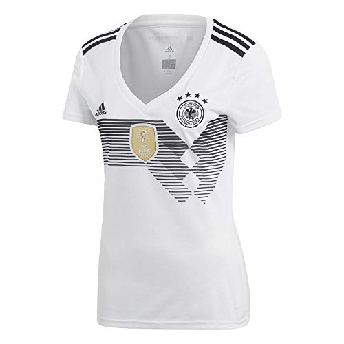 adidas Damen DFB Home 2018 Trikot, White/Black, 2XS
