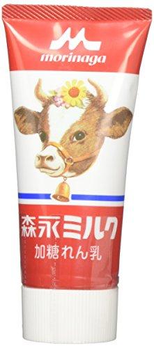 森永乳業 森永ミルク 加糖れん乳 チューブ入り 120g