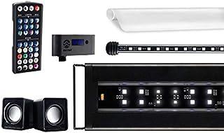 CURRENT USA Serene Aquarium Visual and Audio Aquatic Experience Kit | LED Aquarium Light | LED Background Light | Wireless...