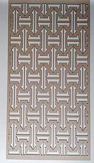 LaserKris - Estantería Decorativa de Pared para radiador (4X2)