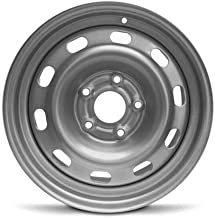 Road Ready Car Wheel For 2004-2012 Dodge Ram 1500 17 Inch 5 Lug Gray Steel Rim Fits R17 Tire - Exact OEM Replacement - Full-Size Spare