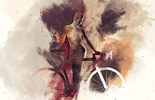 Mujer, andar en bicicleta Rompecabezas Adultos 1000 Piezas,Puzzle Rompecabezas para Niños, Juguete De Regalo Ideal, La Mejor Decoración para El Hogar De Bricolaje