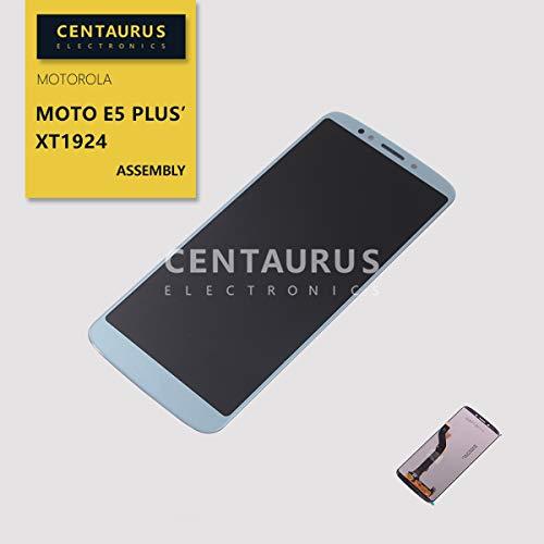 Replacement for Motorola Moto E5 Plus XT1924-1 XT1924-2 XT1924-3 XT1924-4 XT1924-5 XT1924-7 XT1924-8 XT1924-9 / Moto E5 Supra XT1924-6 6.0 inch Assembly LCD Display Touch Screen Digitizer Part (Blue)
