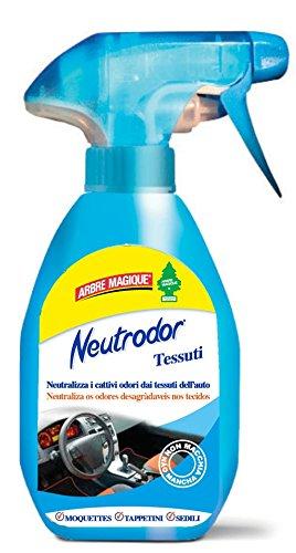 Arbre Magique Neutrodor, per Tessuti, Deodorante Auto, Neutralizza gli Odori, 150 ml