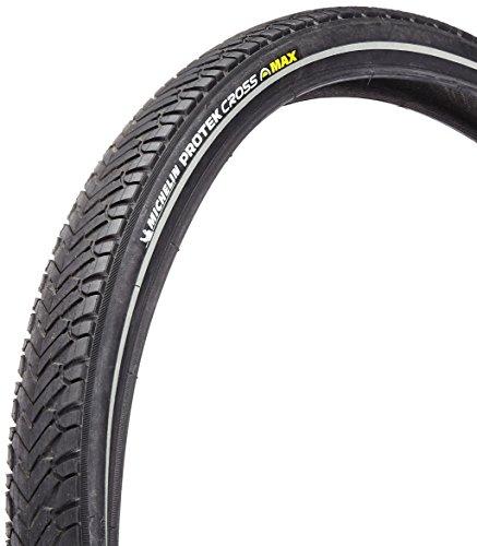 Michelin Reifen Protek Cross Max Draht Reflex Fahrrad Bereifung, Schwarz, 26 x 1.85/47-559