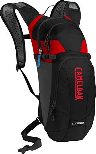 CamelBak Lobo 2019 Hydration Pack -Black/Racing Red sin sistema de hidratación