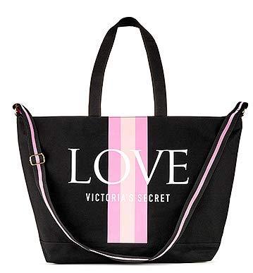 RARE - VICTORIA SECRET HUGE BEACH BAG TOTE BAG. - Logo love angel