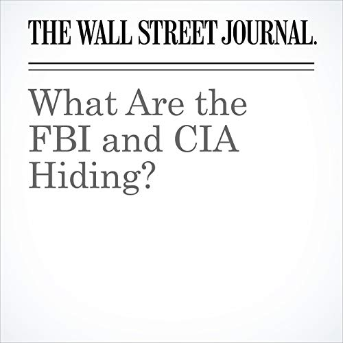 What Are the FBI and CIA Hiding? copertina