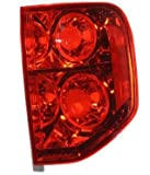 Go-Parts - for 2003 - 2005 Honda Pilot Rear Tail Light Lamp Assembly / Lens / Cover - Right (Passenger) Side 33501-S9V-A02 HO2801154 Replacement 2004