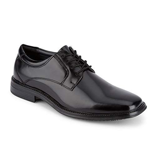 Dockers Mens Irving Slip Resistant Work Dress Oxford Shoe, Black, 9 M