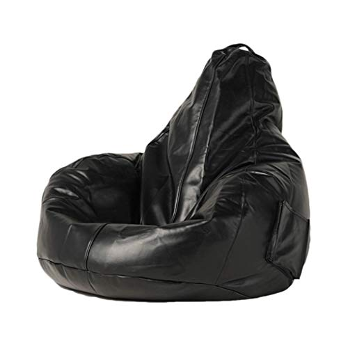 Bean Bag NLIAN- Beanbags Highback Beanbag, with EPP Filling Lounge Chair Indoor or Outdoor for Children Home or Garden 85x90x80cm (Color : Black)