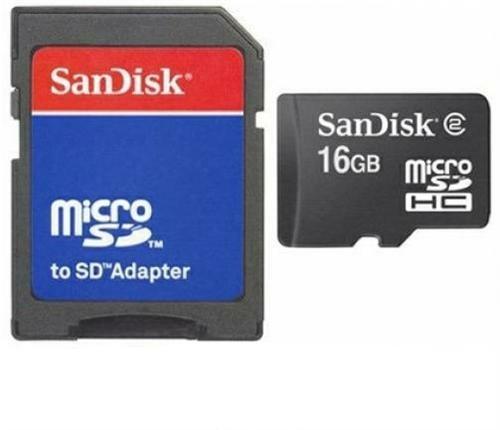 16GB Micro SD SDHC Speicherkarte Karte Memory Card + SD-Adapter für ZTE Axon 7 Elite Mini Blade L2 L3 L5 Plus S6 S6+ V220 V6 V7 Lite Vec Grand S2 S3 Kis 3 Max Nubia Z7 Max Mini Z9 Mini Open C L Star 2