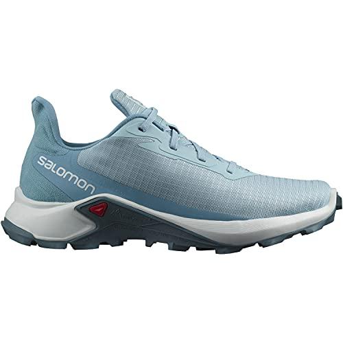 Salomon Alphacross 3 Mujer Zapatos de trail running, Azul (Crystal Blue/White/Delphinium Blue), 38 2/3 EU