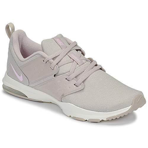 Nike Women's Air Bella TR Training Shoes Moon Particle/Pink Foam-Sail (10)