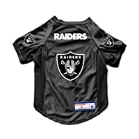 Littlearth NFL Oakland Raiders Pet Stretch Jersey, X-Large