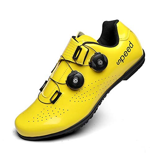 AGYE Calzado de Ciclismo Hombre, Calzado De Ciclismo De Carr