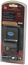 Panasonic Lumix DMC-LX1, DMC-LX2, DMC-LX3 - Replacement Battery Charger (Incl. Car and European Plug Adapters)