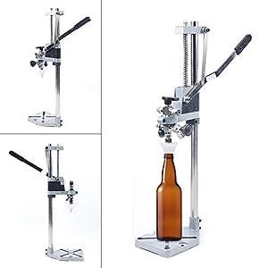 DYRABREST Bottle Filler,Counter Pressure Bottle Filler,Stainless Steel Beer/Wine Bottle Filler,Manual Liquid Filling…