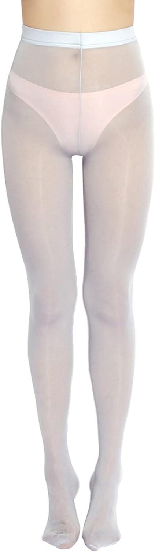 Loloda Women Sheer Tights Stockings Shiny Oil Glossy 8D Transparent Sexy Silk Pantyhose