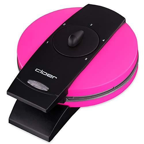 Cloer 1627-11 930 - Gofrera automática, color rosa