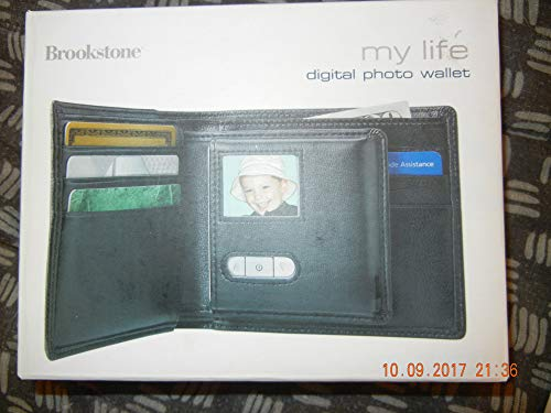 Brookstone My Life Digital Photo Wallet