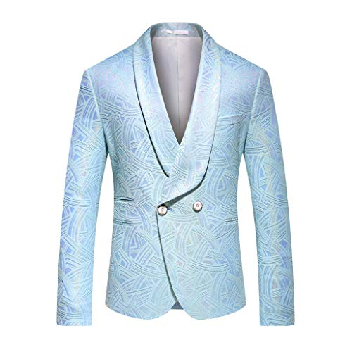Setsail Herren Eleganter Anzug Dünner Zweiteiliger Anzug, Blazer, Business-Hochzeitsfest, Jacke und Hose