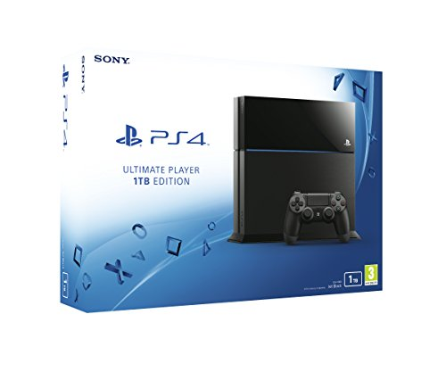 Sony PlayStation 4 + LEGO Star Wars + Film, 1 TB, Black, Ultimate Player Edition, C-Chassis, Dualsho